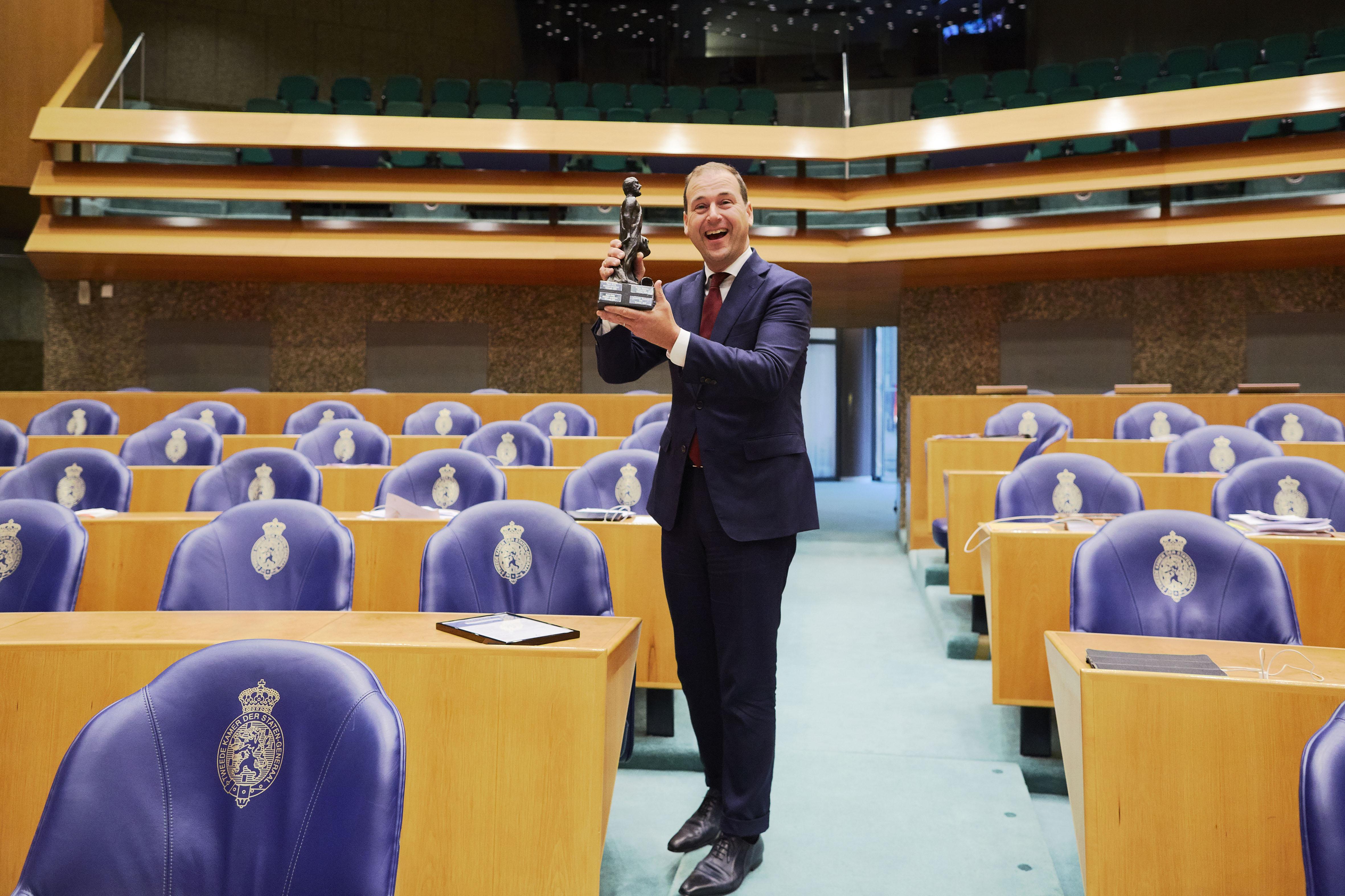 Lodewijk Asscher winnaar Debatprijs Algemene Politieke Beschouwingen 2018