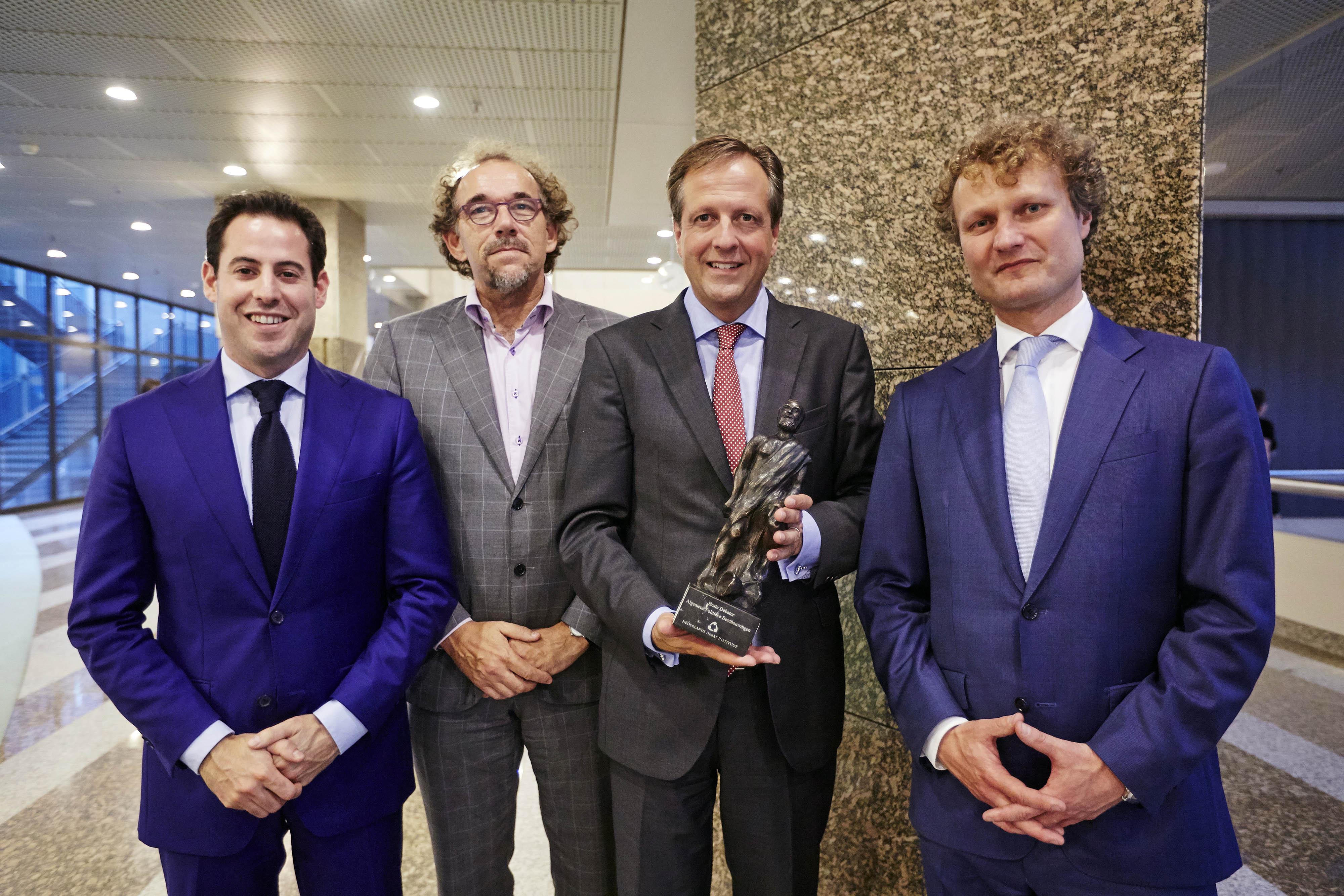 Pechtold wint Debatprijs 2014