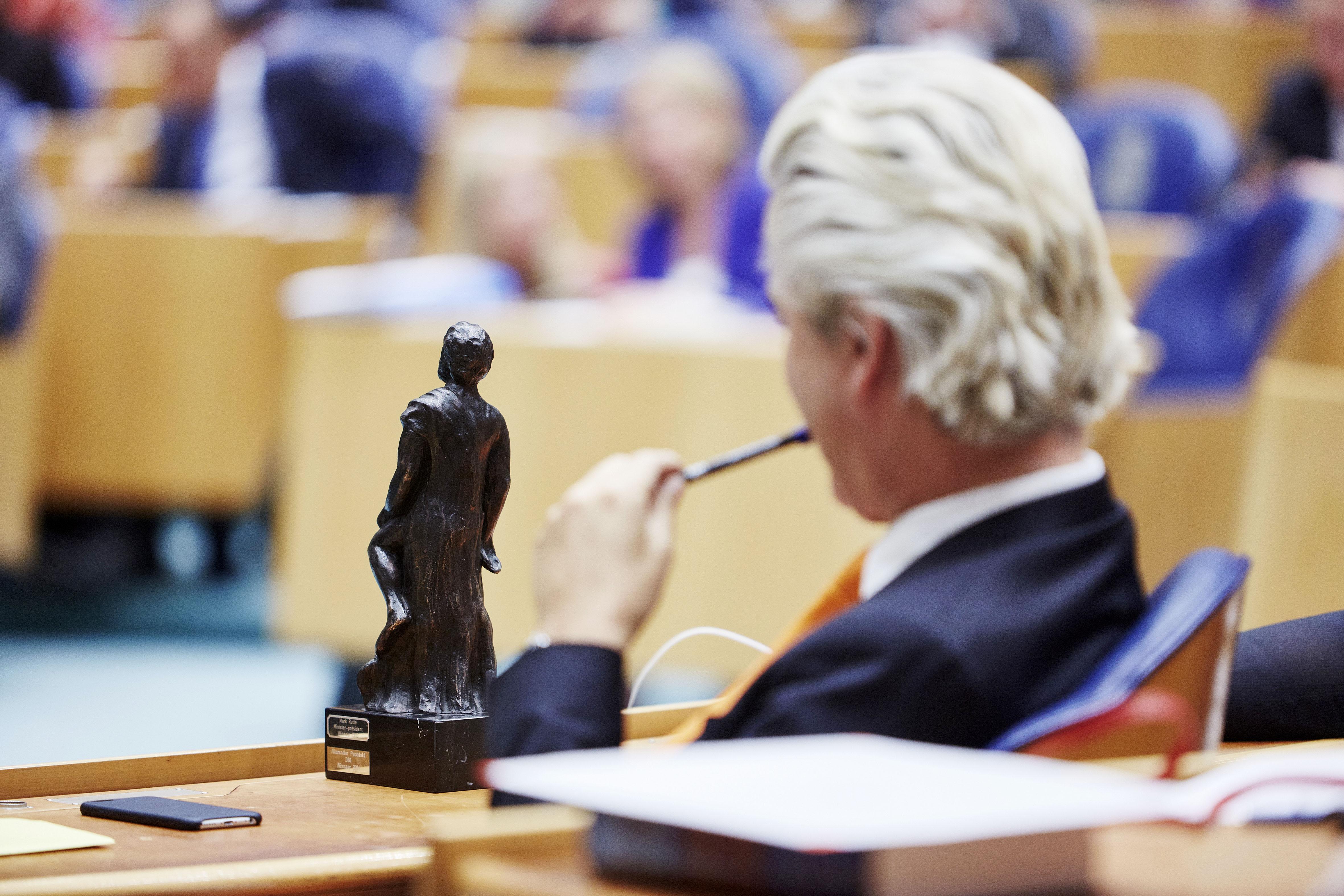 Wilders en de Debatprijs tijdens de Algemene Politieke Beschouwingen 2015