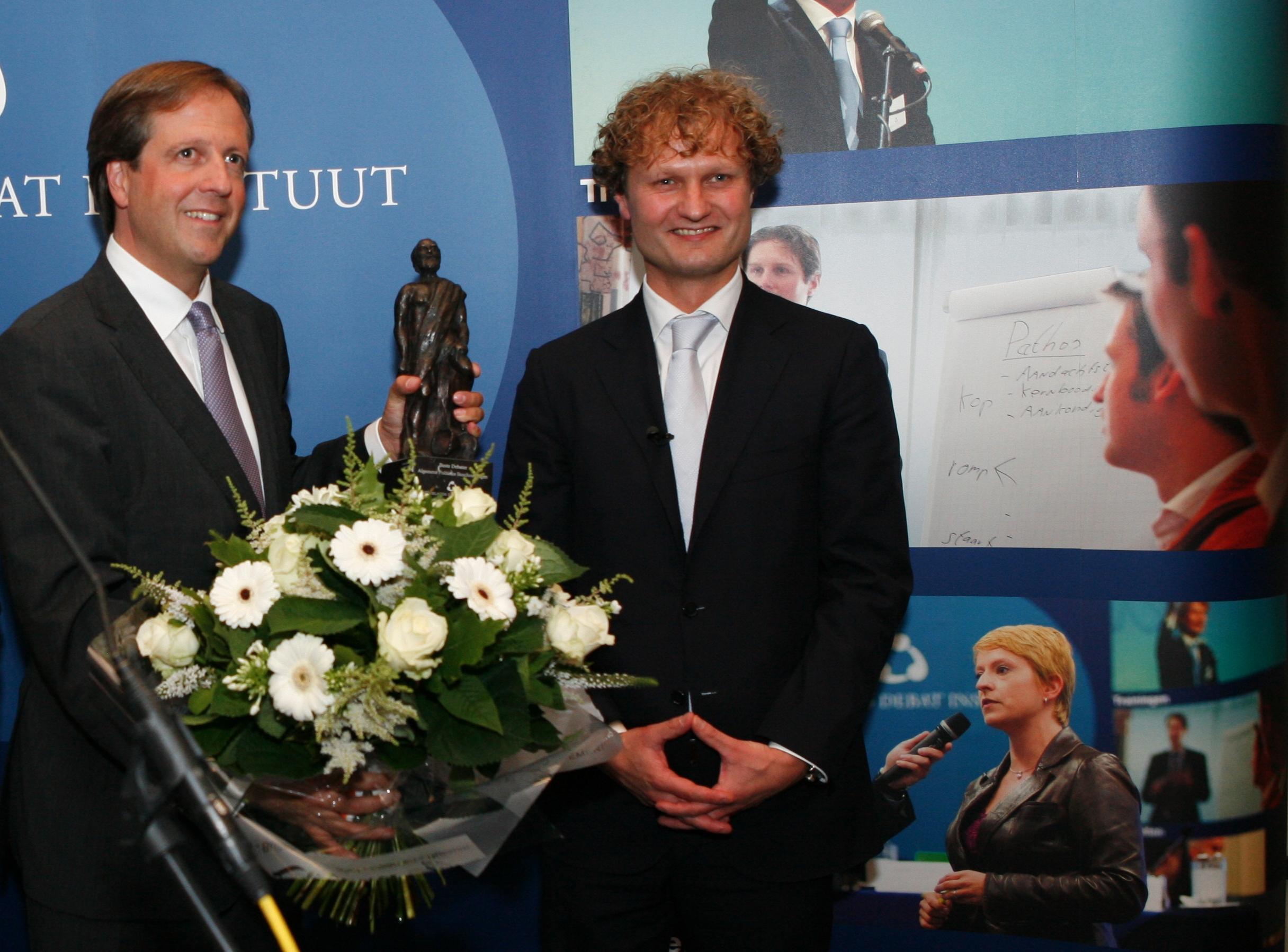 Pechtold wint de Debatprijs 2009
