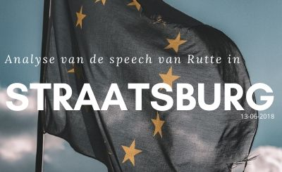 Speech rutte Straatsburg
