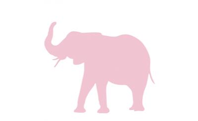 Denk niet aan een roze olifant