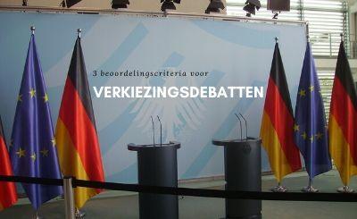 verkiezingsdebatten